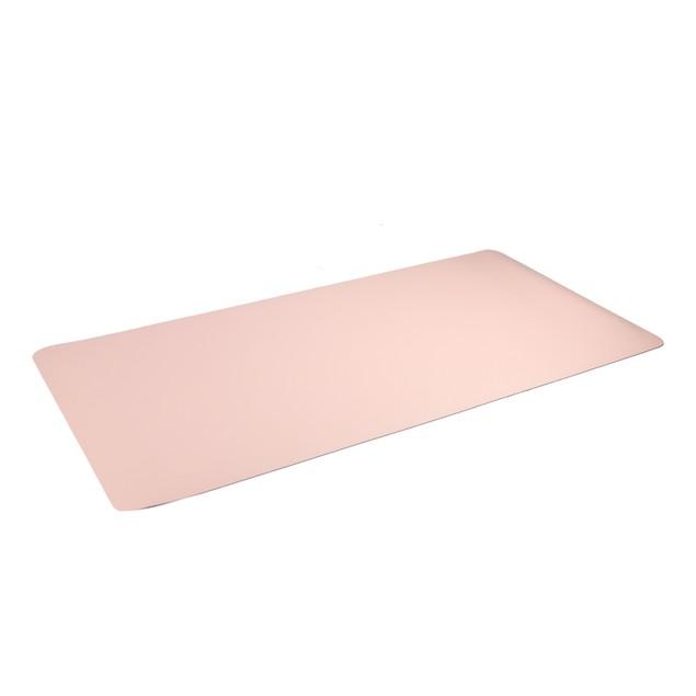 Large Desk Mat | MandW Grey/Pink