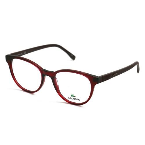 Lacoste Women Eyeglasses L2834 604 Burgundy Full Rim 52 18 140