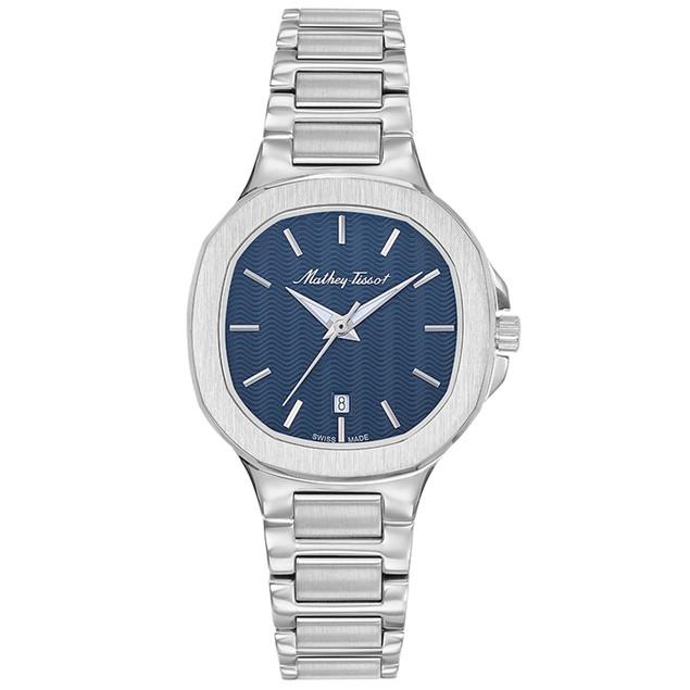 Mathey Tissot Women's Evasion White Dial Watch - D152ABU