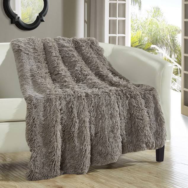 "Chic Home Federick Supersoft Ultra Plush Decorative Throw Blanket 50""x60"""