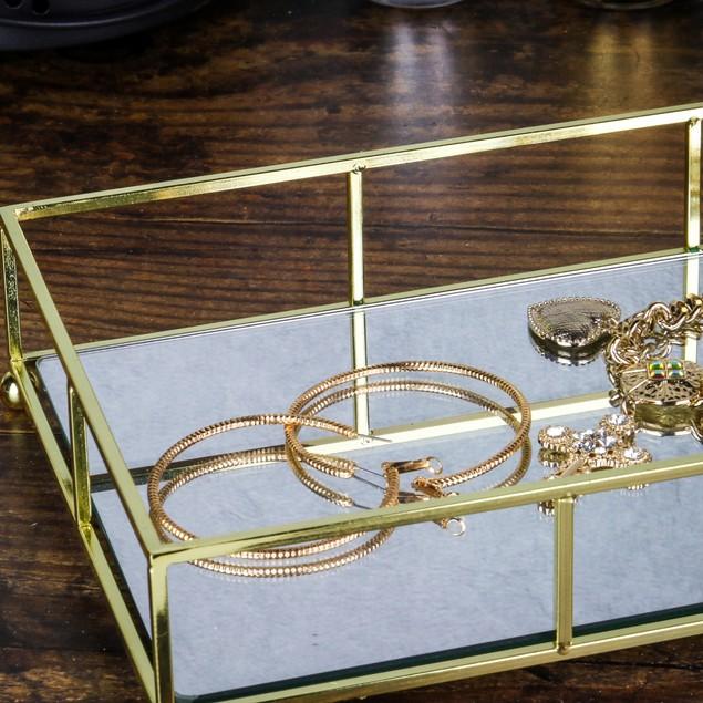 Gold Mirrored Tray | MandW