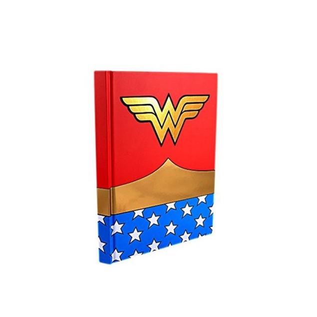 Wonder Woman Uniform Red Hard Cover Journal