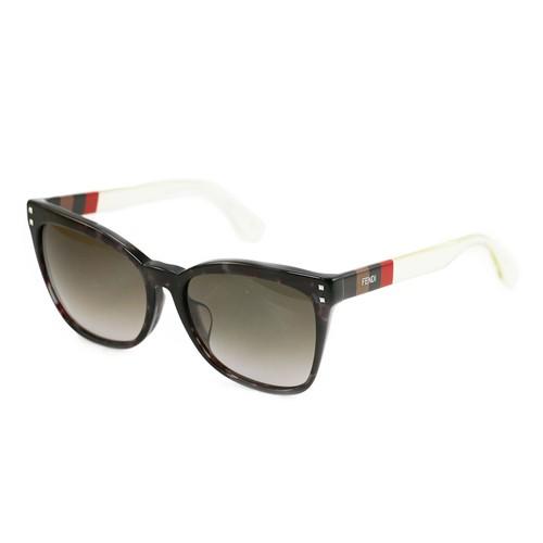 Fendi Women's Sunglasses FF0098/F/S E8M/HA Grey Havana/Transparent 57 17 140