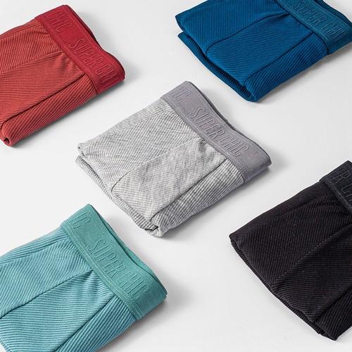 Stretch Antibacterial Zero-Feel Comfortable Men's Underwear