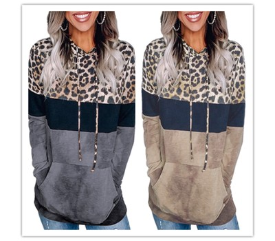 Leopard Hoodie Shirt- 2 Colors Was: $59.99 Now: $23.99.