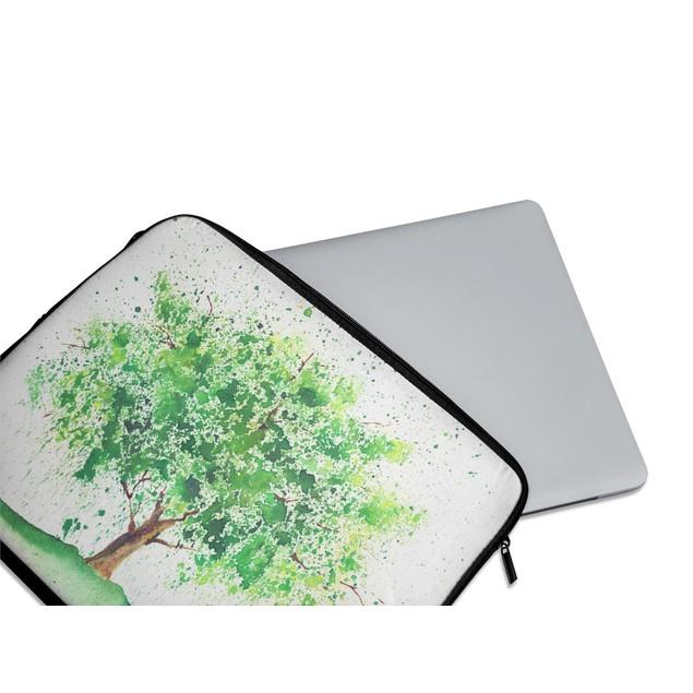 """EmbraceCase 15.6"""" Ink-Fuzed Laptop Sleeve - Tree of Life"""