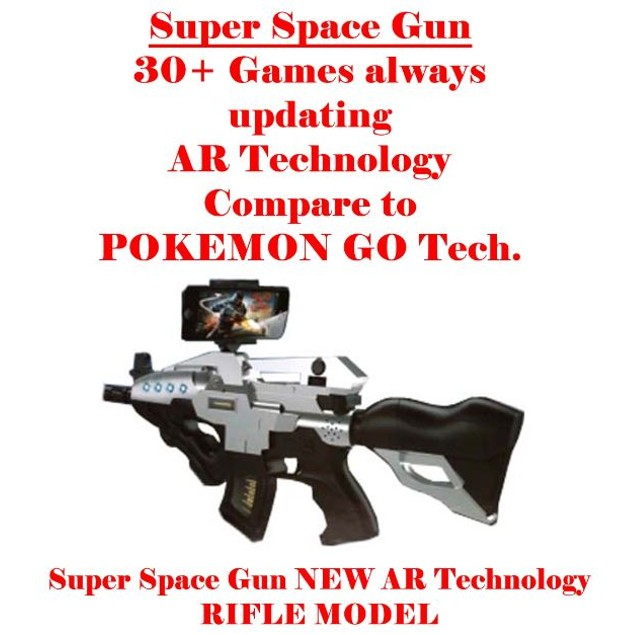 Super Space Gun with NEW AR Technology Rifle Model