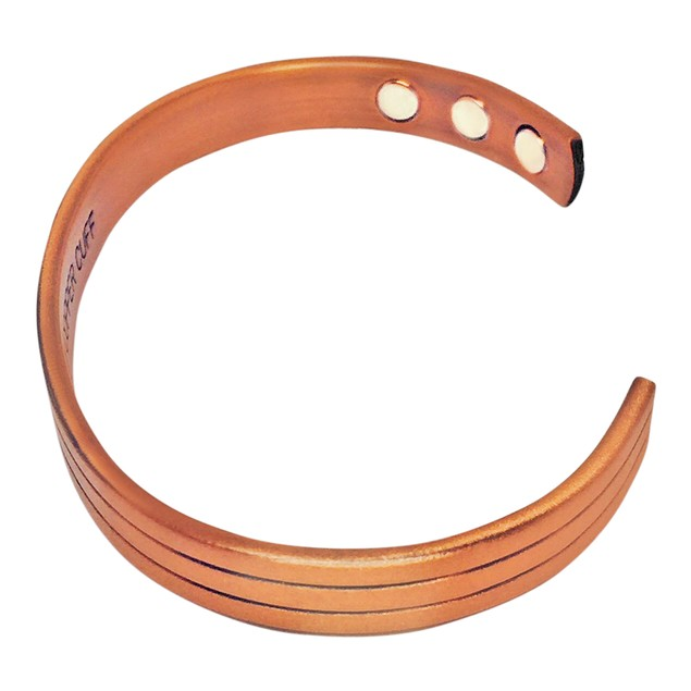 Pure Copper Stylish Magnetic Bracelet For Pain Relief