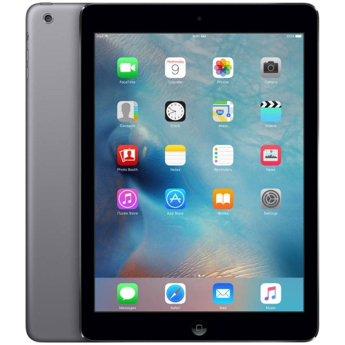 "Apple iPad Air MD786LL/A 9.7"" 32GB WiFi, Space Gray (Refurbished)"