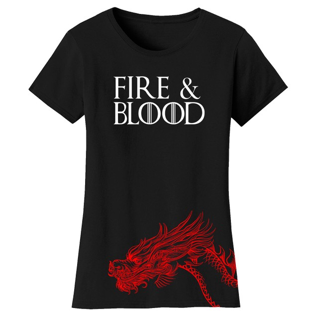 Women's Thrones and Dragon's T-Shirts
