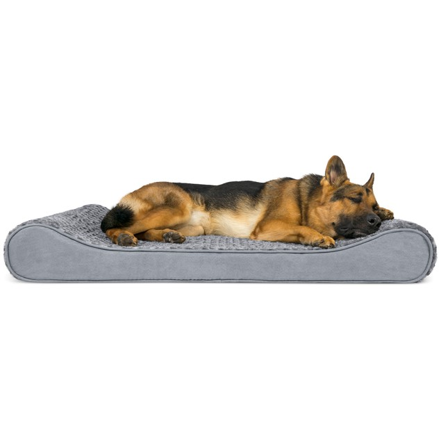 FurHaven Orthopedic Ultra Plush Luxe Lounger Pet Bed