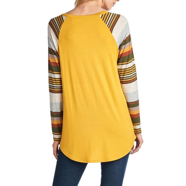 Women Christmas T-Shirt  Round Neck Loose Blouse Casual Tops