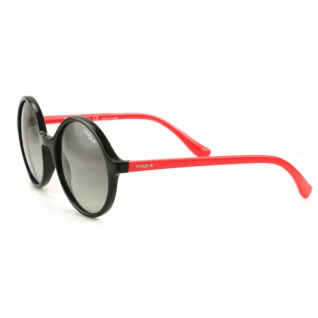 Vogue Women's Sunglasses VO5036S W4411 Black/Red  52 19 135