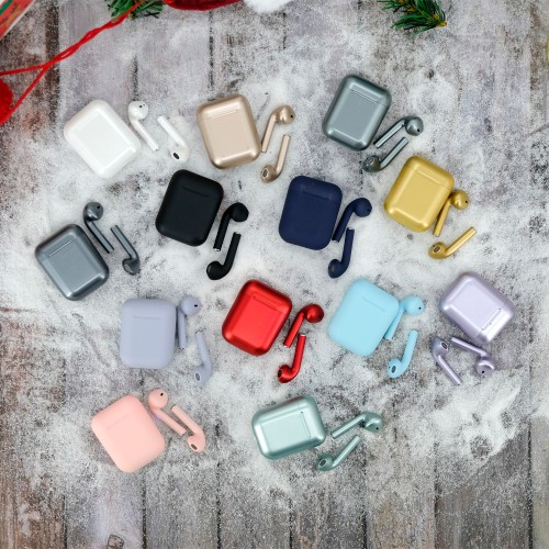 Wireless Earbuds With Charging Case - 13 Colors