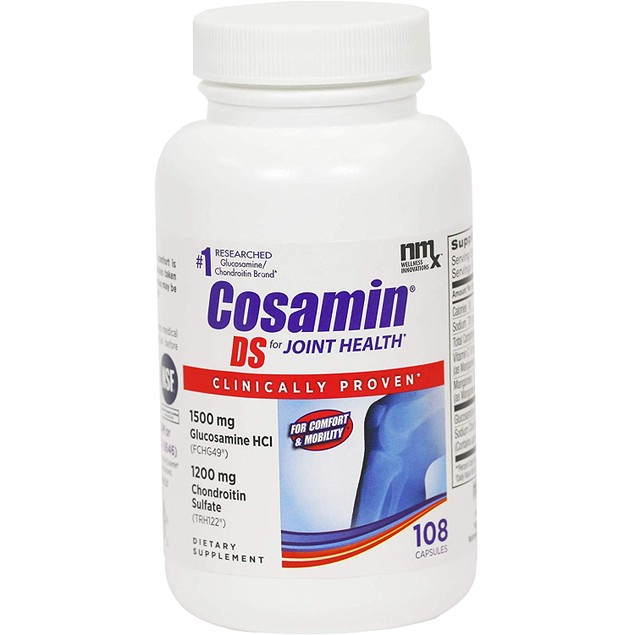 CosaminDS Cosamin DS Joint Health Supplement Capsules, For Cartilage, 108
