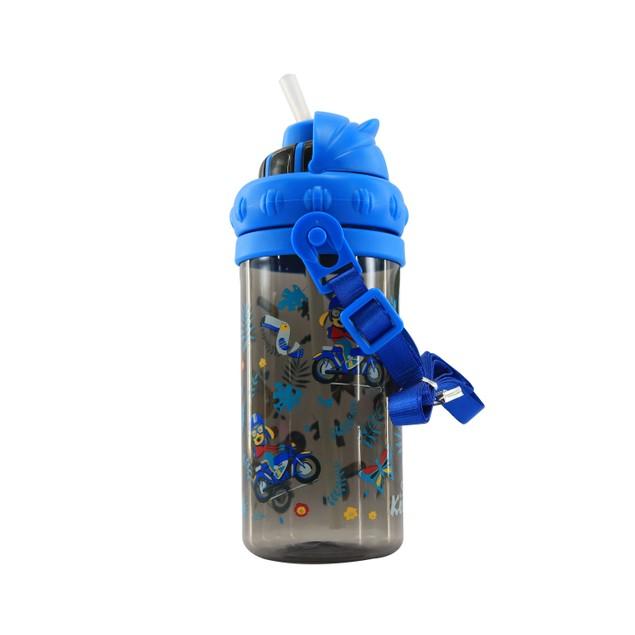 Smilykiddos Sipper Water Bottle Black