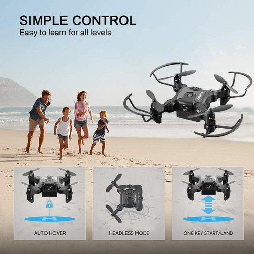 Drone With 720P HD Wifi FPV Camera Foldable RC Quadcopter for kids Mini