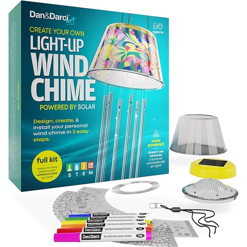Create Your Own Solar-Powered Light-Up Wind Chime