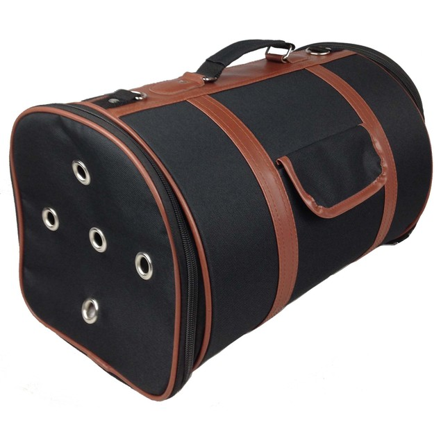 Airline Approved Fashion Cylinder Posh Pet Carrier