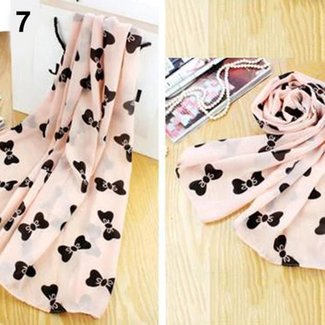 Women's Fashion Casual Elegant Print Chiffon Soft Wraps