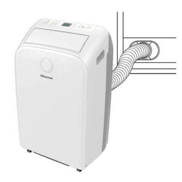 Hisense 400 Sq. Ft. 12,000 BTU Portable Air Conditioner with Remote