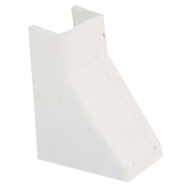 Cable Raceway, White, 1.75 inch, Ceiling Entry