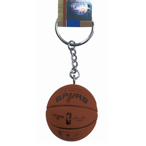 San Antonio Spurs Mini Basketball Keychain Spalding NBA