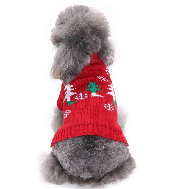 Christmas Pet Dress Sweater
