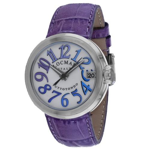Locman Men's Classic White Dial Watch - 340MOPBLVT