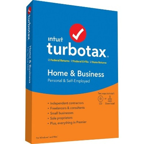 TurboTax Home&Business 2019