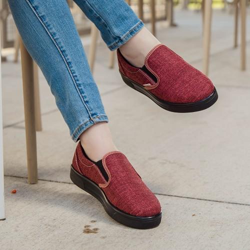 AEROSOFT Orbew Women's Casual Slip-on Flat Loafers