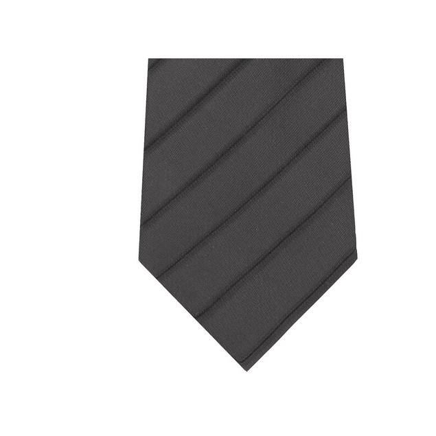 Kenneth Cole Reaction Men's Slim Iridescent Stripe Tie Gray Size Regular