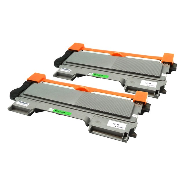 2-Pack Brother TN450 Compatible Toner