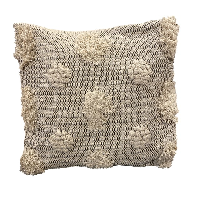 Spura Home Comfortable Fan Design Moroccan Style Pillows for Living Room