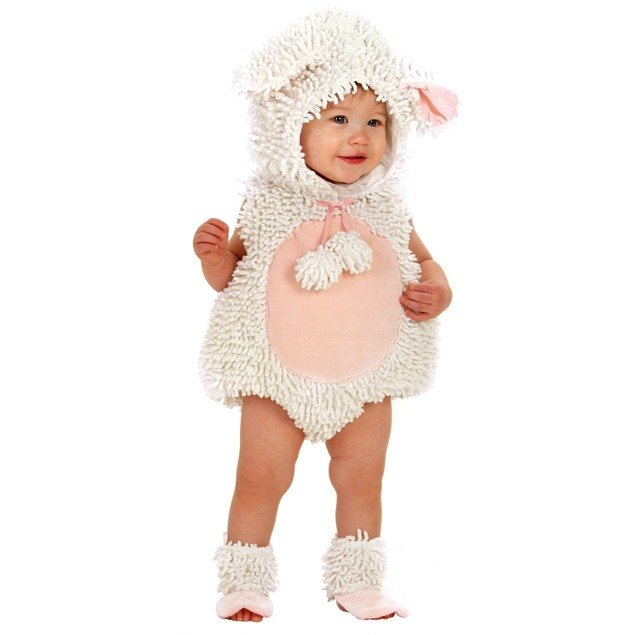 Laura The Lamb Toddler Costume Mary Had A Little Baby Infant Sheep Cute