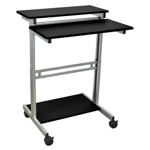 """Offex 31.5"""" Adjustable Stand Up Workstation - Black"""