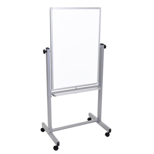 """Luxor 24"""" x 36"""" Double Sided Magnetic Whiteboard - White"""