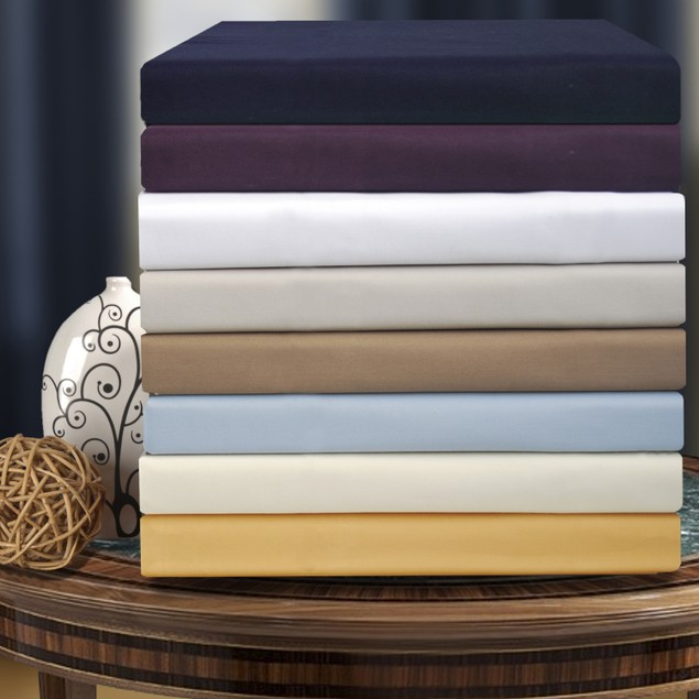 1000-Thread-Count Pillowcases Set, Cotton Blend