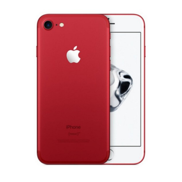Apple iPhone 7 Plus, AT&T, Red, 128 GB, 5.5 in Screen