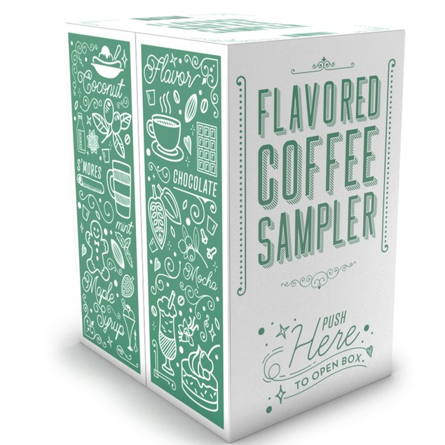 Two Rivers FLAVORED Coffee Pods for Keurig Brewer, Variety Pack, 40 Count