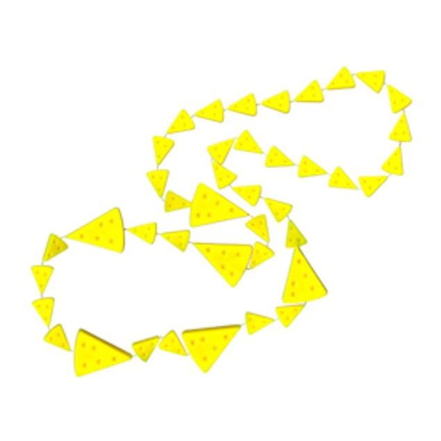 Cleanlapsports Yellow Cheese Beads