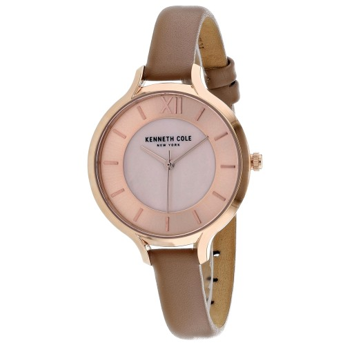 Kenneth Cole Women's Classic Mother of Pearl Dial Watch - KC15187004