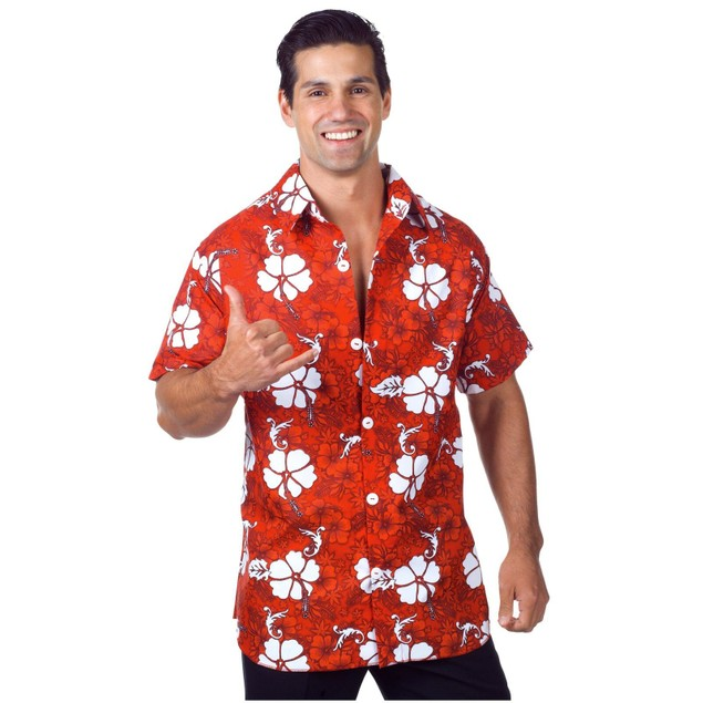Glenn Quagmire Red Hawaiian Shirt