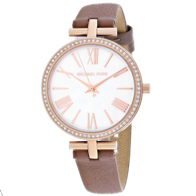 Michael Kors Women's Maci White Dial Watch - MK2832