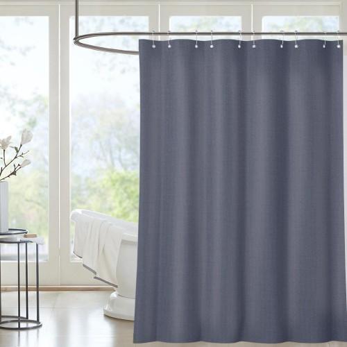 Three-Color Home Textile Bathroom Curtain 72*72in