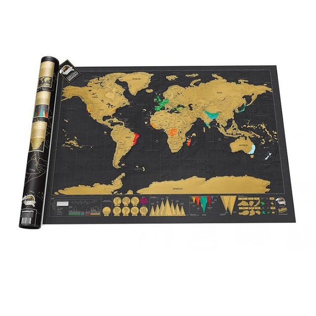 The Perfect Gift: Scratch Map