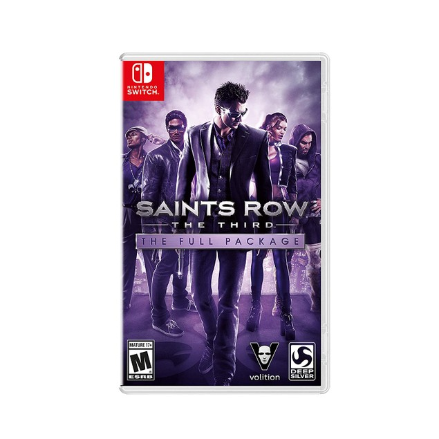 Saints Row The Third Full Package Nintendo Switch Game (#)