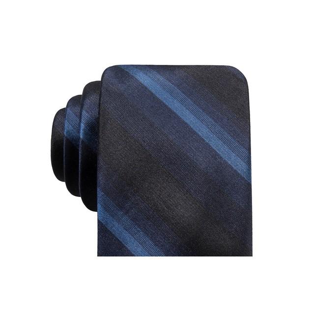 Ryan Seacrest Distinction Men's Leigh Silk Tie Navy Size Regular