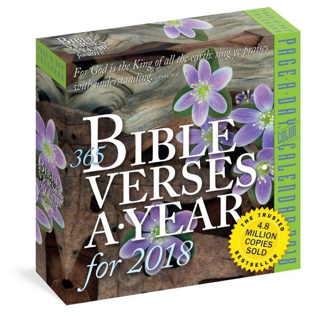 Bible Verses Desk Calendar, Bible by Workman Publishing