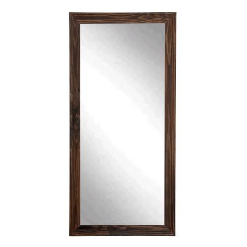 """BrandtWorks Perfect Rustic Espresso Floor Mirror - 31.5"""" x 65.5"""""""
